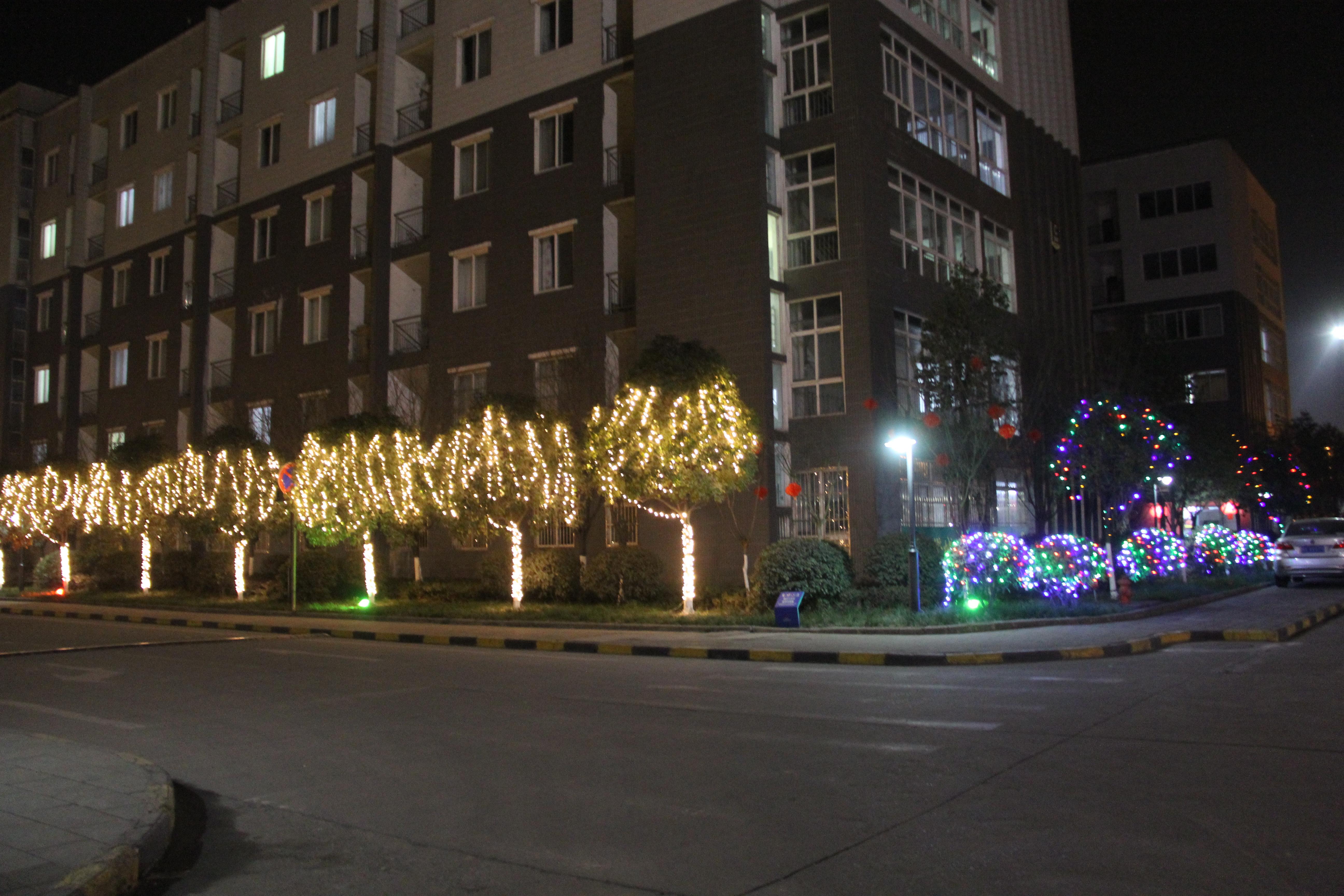 【美丽汉钢】旅游后勤部提早开展生活区春节亮化及氛围营造工作