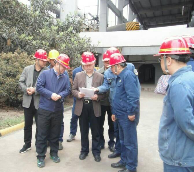 【公司新闻】杨海峰一行到公司重大危险源煤气储配站检查指导工作