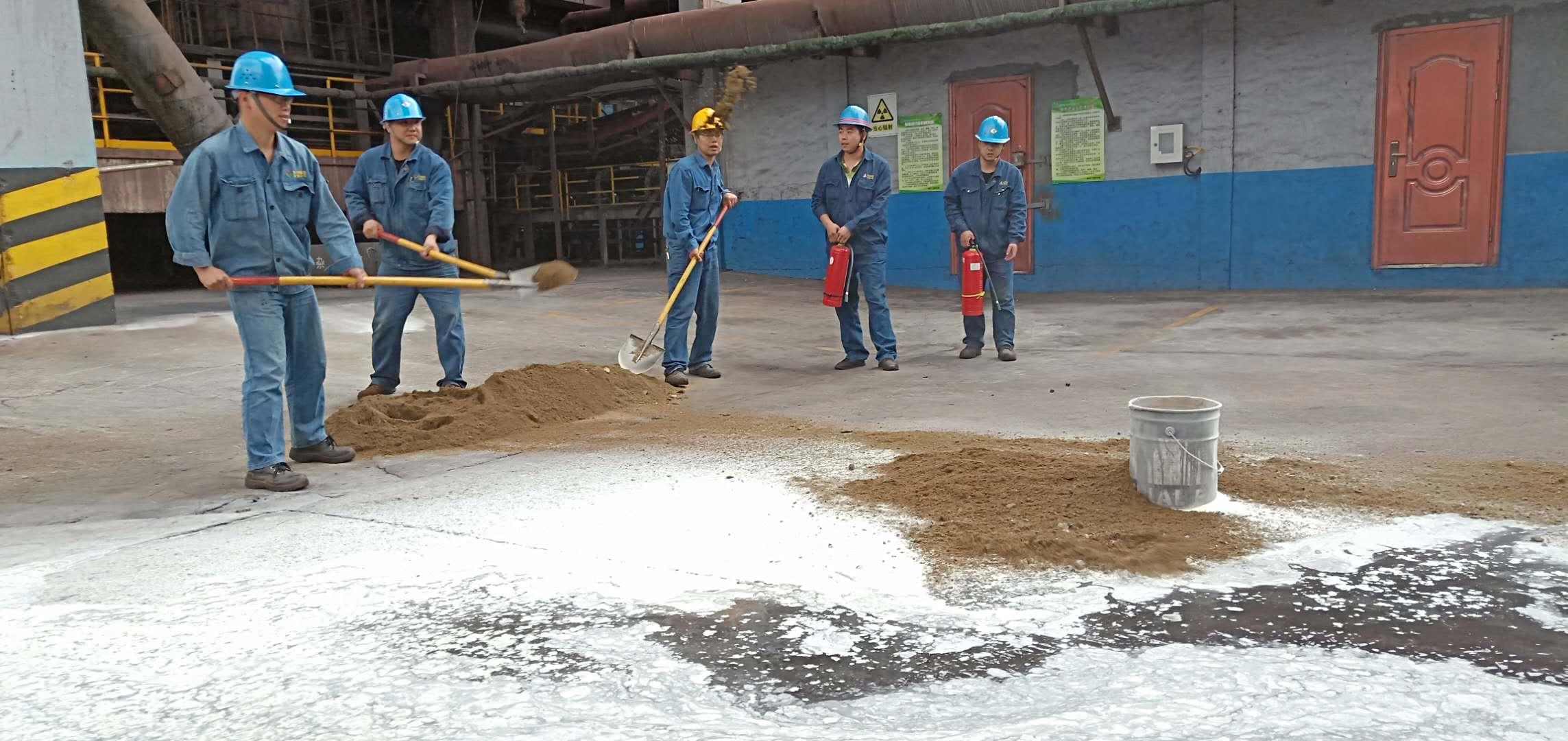 """【基层动态】炼铁厂在应急管理月中扎实开展""""应急演练"""""""