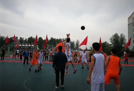 【公司新闻】公司专职消防队携手勉县消防救援大队开展篮球友谊赛