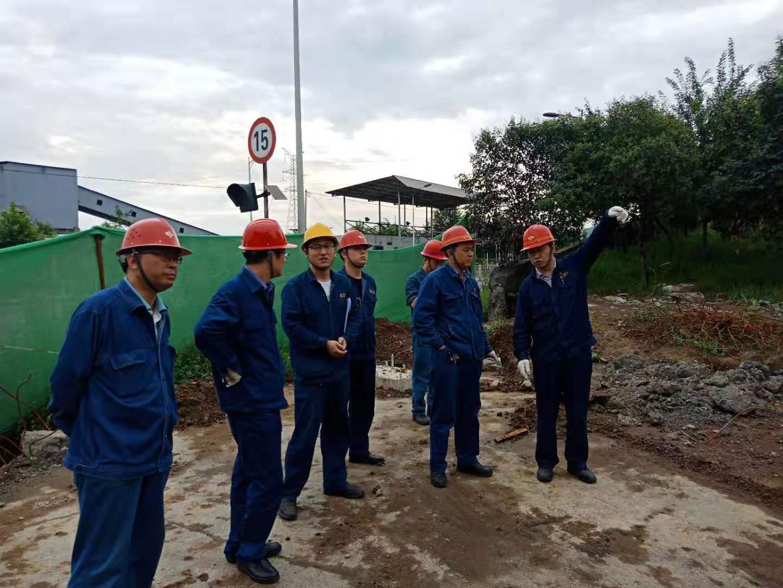 【基层动态】炼钢厂组织区域施工单位专项安全检查