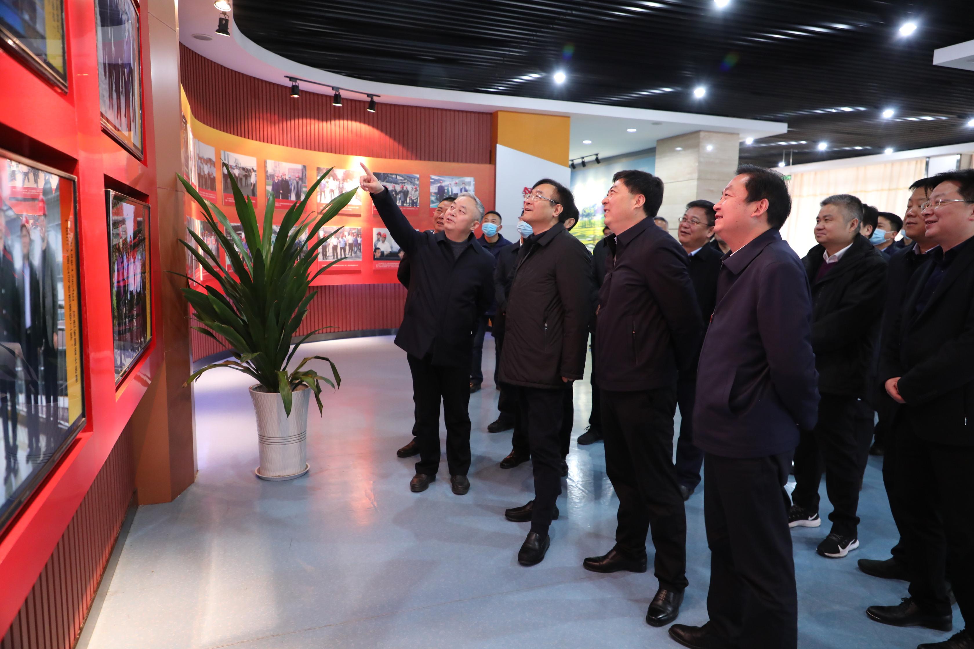 汉中市委副书记、代市长钟洪江到公司调研